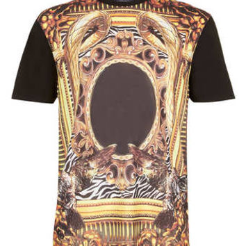 BLACK GOLD FRAME T-SHIRT - Printed T-Shirts - Men's T-shirts & Tanks  - Clothing