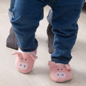 Baby or Toddler Booties!  Pig, Sheep or Cow, So Cute!