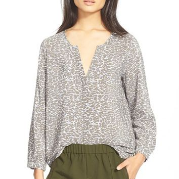 Women's Joie 'Purine' Print Silk Blouse,
