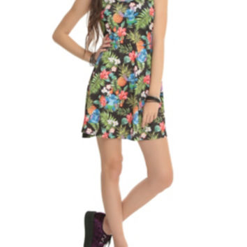Disney Lilo & Stitch Floral Dress