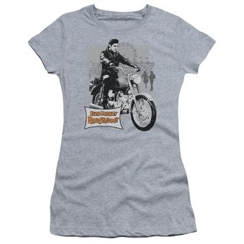 Elvis Presley Juniors T-Shirt Roustabout Athletic Heather Tee
