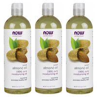 Now Foods Almond Oil Pack of 3(48oz)