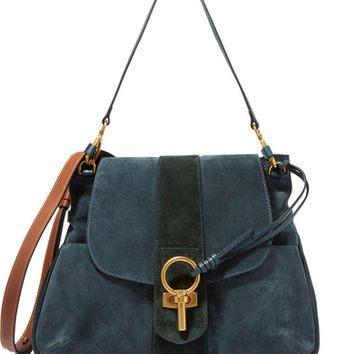 Chloé - Lexa medium suede shoulder bag