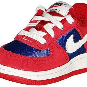 Nike Toddler Boys Force 1 Gym Red Sail Deep Royal Blue Sneaker nike air force