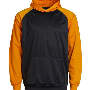 Youth Color Black Performance Hoodie