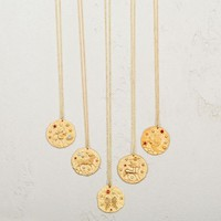 Zodiac Constellation Pendant Necklace