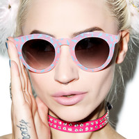 Crap Eyewear The Cotton Candy T.V. Eye Sunglasses One