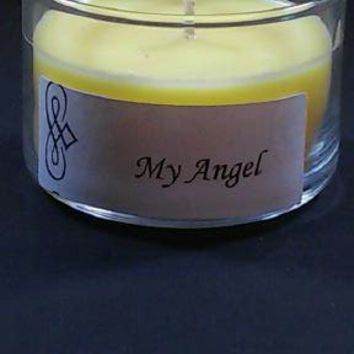 My Angel 4oz Scented Candle by Sweet Amenity Fragrances