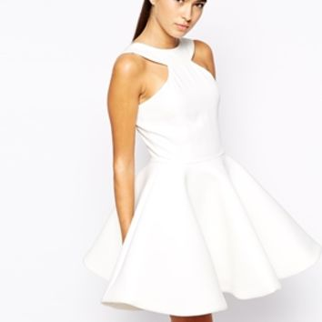AQ AQ Tiara Mini Dress with Extreme Full Skirt