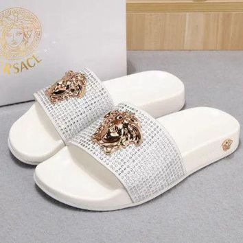 Versace Women Fashion Casual Slippers