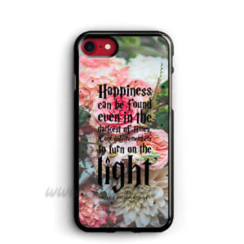 Harry Potter Quote iphone cases Happiness can be found samsung case ipod cover