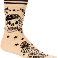 Sorry In Advance Men's Crew Socks
