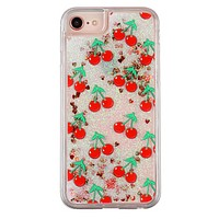 Cherry Bomb Glitter iPhone Case