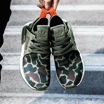 Adidas NMD tide brand men and women fashion casual sports running shoes   F