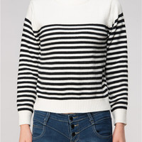 Minimal and Chic Stripes Sweater