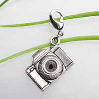Own Charm ~ Antique Silver Camera Charms Pendant Camera Charm jewelry connector pendant 8x15x20mm