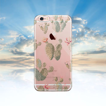 iPhone 6 case Clear iPhone 6S case CACTUS Samsung galaxy S6 case transparent Samsung galaxy S5 case Note 5 case iphone 5S case LG G4 case