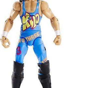 WWE 1-2-3 Kid Action Figure Elite 41 Wrestling Mattel Toy NEW 123 kid