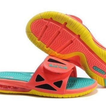 PEAPGE2 Beauty Ticks Nike Air Lebron Slide 78251460 Casual Sandals Slipper Shoes Size Us 7-11