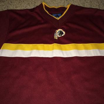 Sale!! Vintage Adidas WASHINGTON REDSKINS Football Jersey NFL Shirt Made in Usa