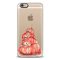 Pumpkins Iphone Case, Halloween iphone, Fall iphone case, Iphone 6 case , Iphone 5 case, Iphone 4 case, custom iphone cover, Autumn phone