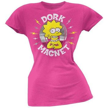 ESBGQ9 Simpsons - Dork Magnet Juniors T-Shirt