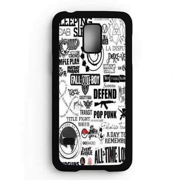 Fall Out Boy Mix Collage Samsung Galaxy S5 Mini Case