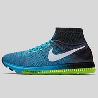 AUGUAU Nike Zoom All Out Flyknit Blue Lagoon White Black Dark Purple Dust