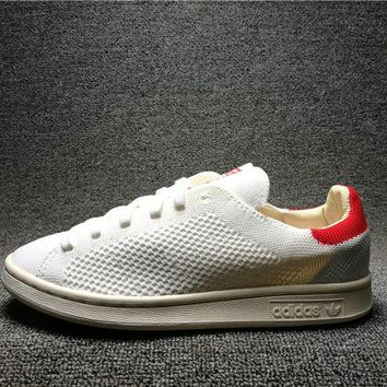 Adidas Superstar Stan Smith OG PK Couple Shoes White / Red