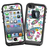 Butterflies and Dragonflies Skin  for the iPhone 5 Lifeproof Case by skinzy.com