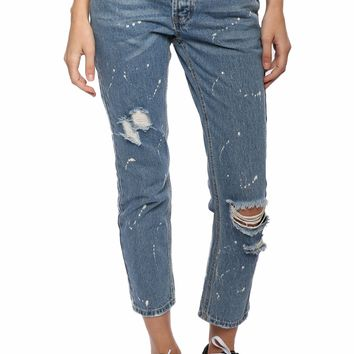 Brooklyn Karma Destroyed BF Jeans