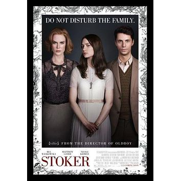 stoker poster Metal Sign Wall Art 8in x 12in