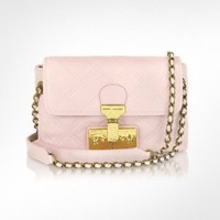 Marc Jacobs The Single Light Pink Leather Shoulder Bag | FORZIERI