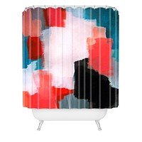 Natalie Baca Big Dreams Shower Curtain