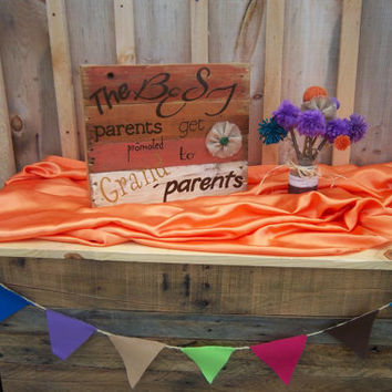 Rustic Sign, Wooden Sign, Shelf Sitter, Grand parents sign