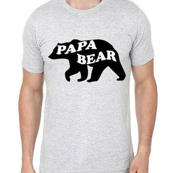 Papa Bear T shirt | Papa Shirts | Papa Bear Shirt | Gift for Dad | Bear Shirt