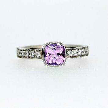 best solitaire cushion cut ring products on wanelo