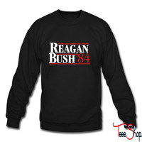 Reagan Bush '84 crewneck sweatshirt