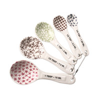 Measuring Spoons, Set of 5 by Rae Dunn