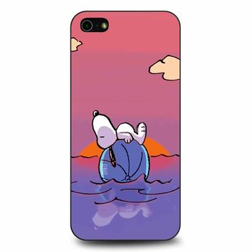 Snoopy Love Happy Summer iPhone 5/5s/SE Case