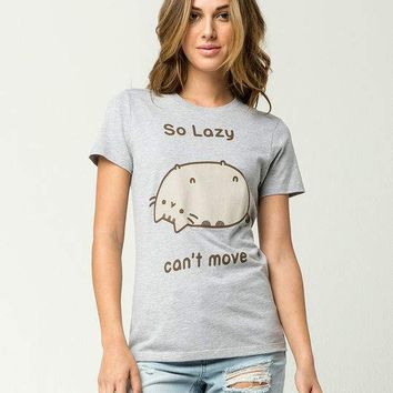 PUSHEEN So Lazy Womens Tee