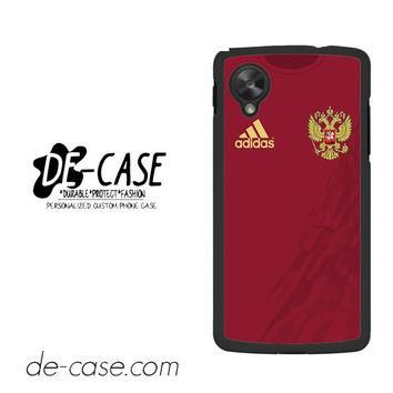 Russia Soccer Jersey For Google Nexus 5 Case Phone Case Gift Present YO