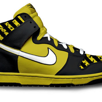 Black and Yellow Dunks