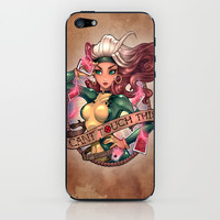 CAN'T TOUCH THIS iPhone & iPod Skin by Tim Shumate