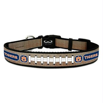 Auburn Tigers Reflective Football Pet Collar