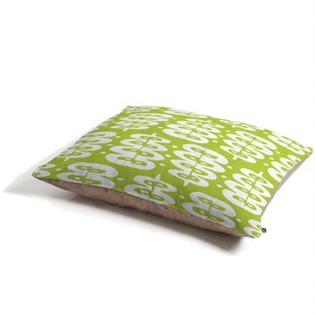 Heather Dutton Fern Frond Green Pet Bed