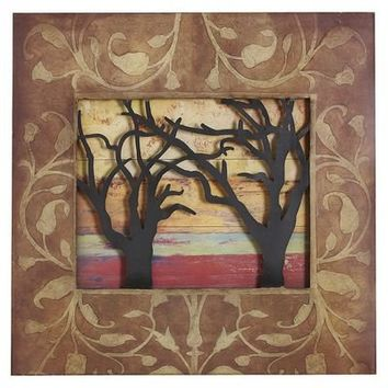Sunset Branches Wall Decor