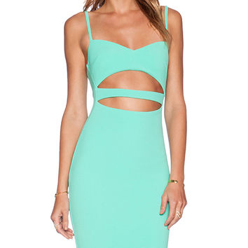 Nookie Bridget Bustier Dress in Green