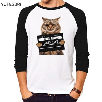 Geek Middle Finger Pocket Cat brand clothing Funny men tShirts fitness cotton T-shirt men summer fashion novelty teens t shirt