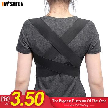 Posture Corrector Back Brace Support Spine Back Corset Belt Shoulder Therapy Support Poor